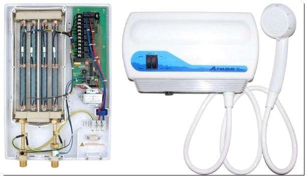 Сделать проточный водонагреватель электрический своими руками 53